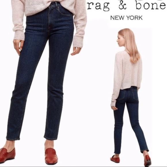 rag & bone Denim - NWT Rag & bone  dark Paz cigarette jeans 25